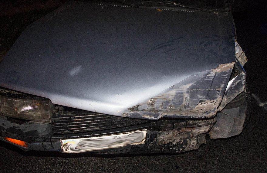 "ДТП на съезде с Кайдакского моста: водитель на ""Mazda"" врезался в бетонную стену (фото, видео)"