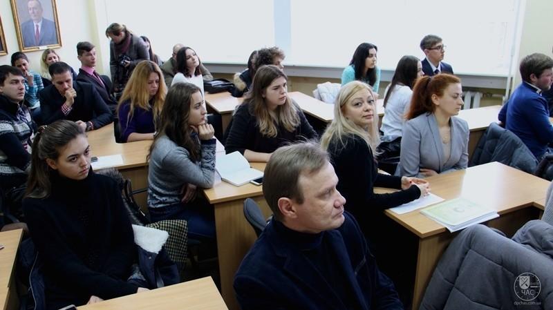 ХьюгМингарелли пообщался с Днепровскими студентами (фото)