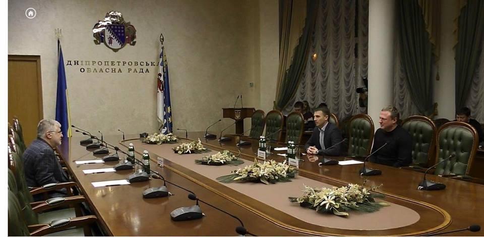 Игорь Коломойский приехал в Днепр (фото)