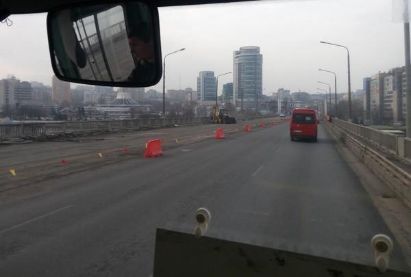 Как продвигается ремонт на Новом мосту (фото)