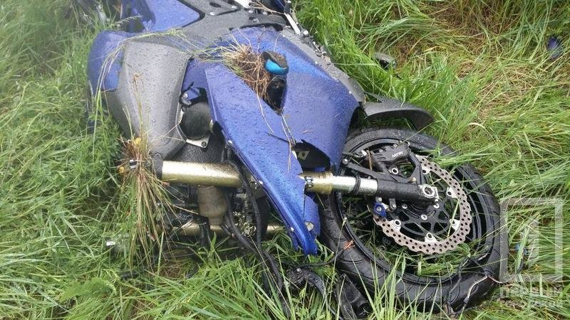 Криворожский мотоциклист разбился под Чкаловкой