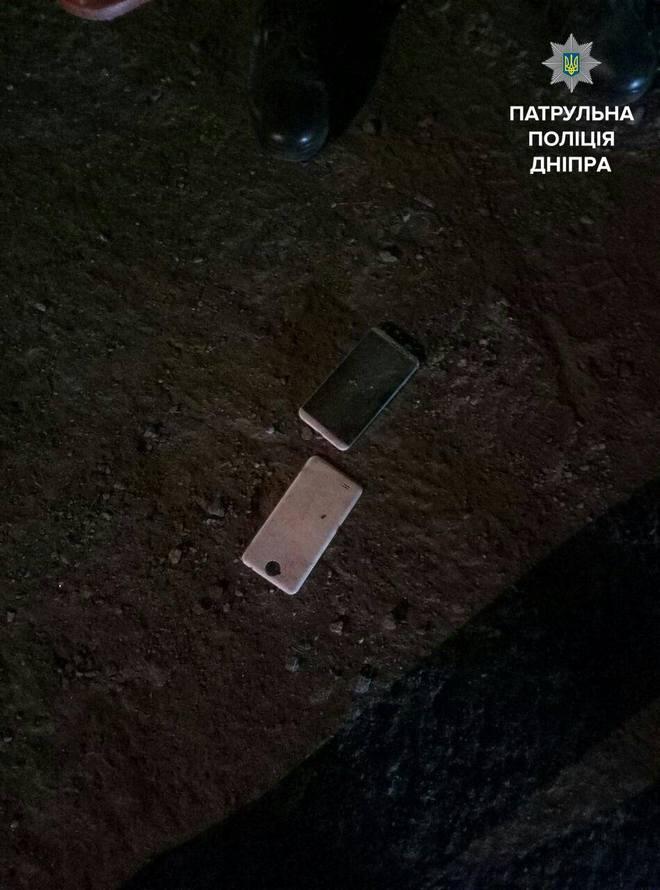 Ночной разбой в Днепре: мужчину ограбили и избили (фото)