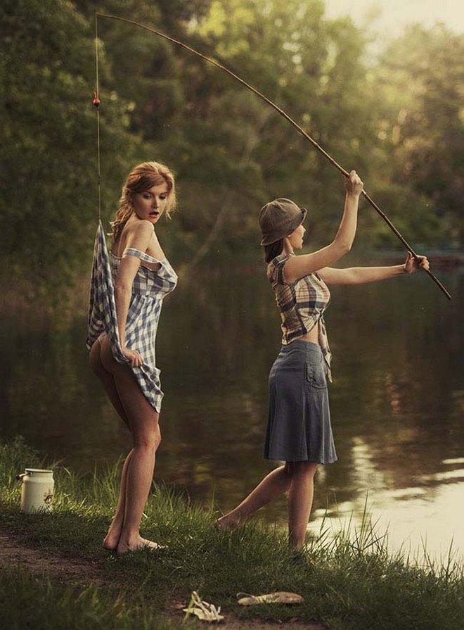 Потрясающе красивые девушки в работах художника из Днепра (фото)