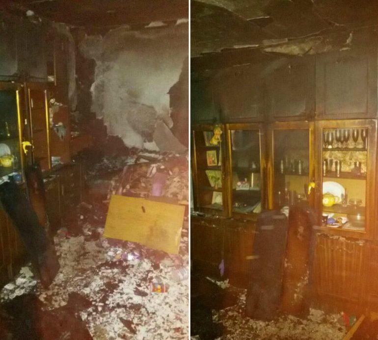 Пожар в Днепре: погибла женщина (фото)