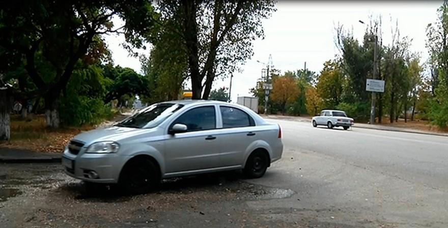 Разбойное нападение в Днепре (фото)