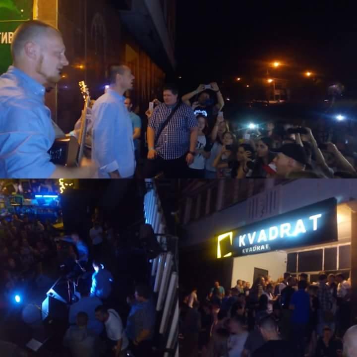 В Днепре эвакуировали фанатов группы Brutto прямо с концерта (фото)