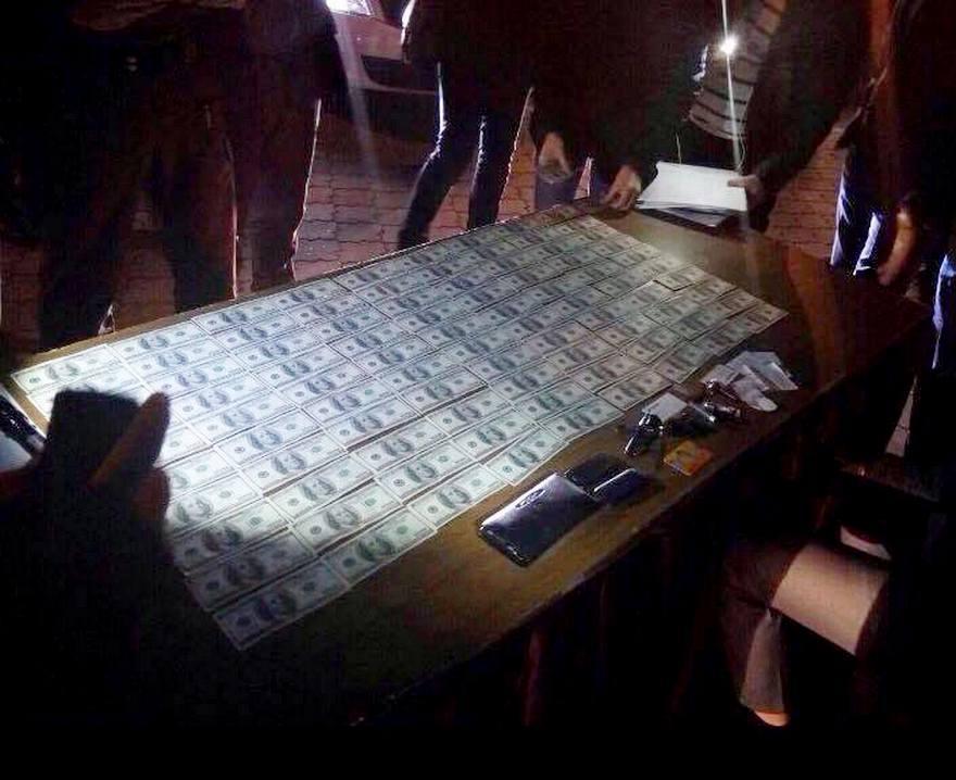 В Днепре на взятке в $10 000 задержали судью (фото)