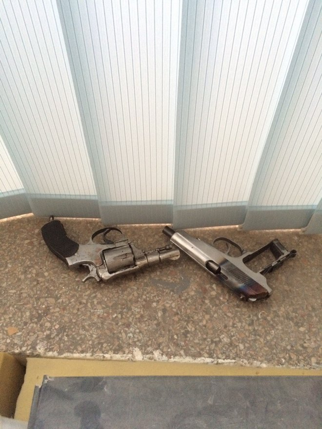 В Днепре полицейские обнаружили подпольное производство оружия (фото)
