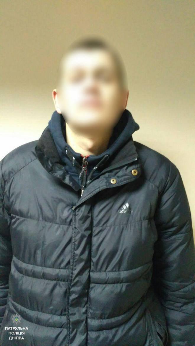 В Днепре полицейские задержали дезертира (фото)