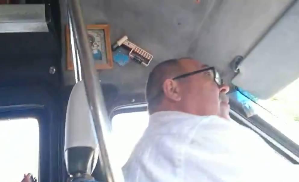 В Днепре водитель маршрутки снова набросился на ветерана АТО