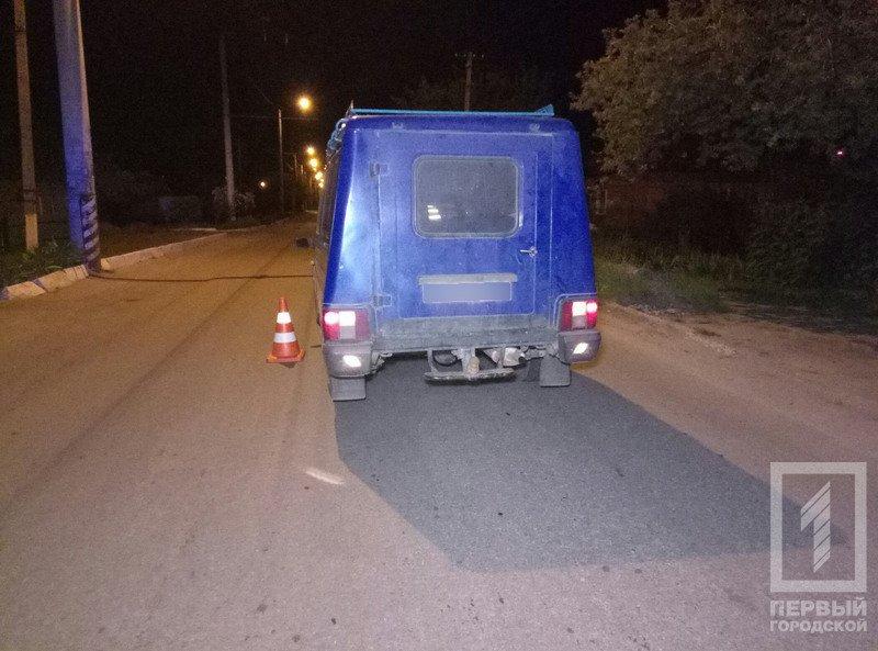 """В Кривом Роге """"Москвич"""" сбил велосипедистку"""