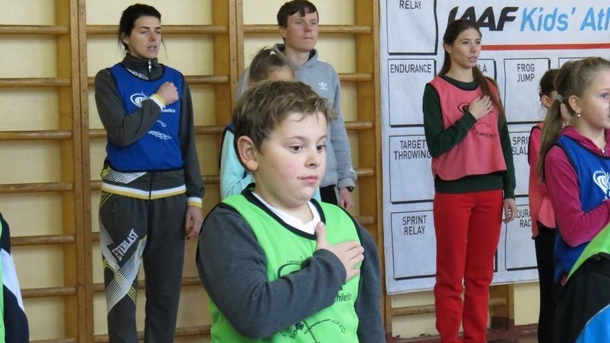 В школах Днепра внедрят программу лёгкой атлетики (фото, видео)