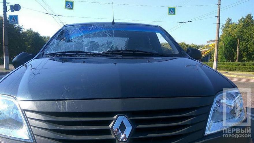 """Водитель на """"Renault Logan"""" сбил сотрудника муниципальной гвардии: пострадавший в состоянии комы (фото)"""