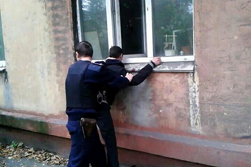 Вора-рецидивиста поймали с поличным (фото)